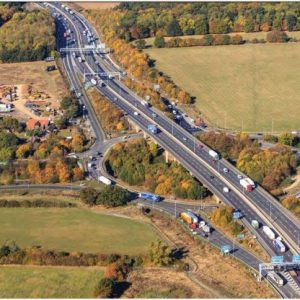 M25 junction 28 improvement scheme