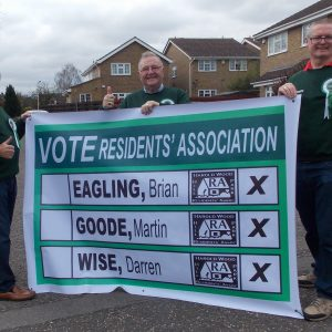 Support your local Residents' Association Candidates