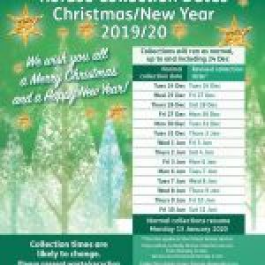 Xmas 2019 Refuse Collection Times