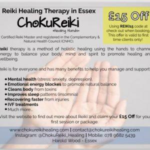 ChokuReiki Healing