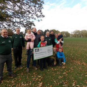 Sponsored Run for London Air Ambulance and in Memory of Harvey