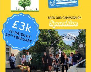 Havering Volunteer Centre Crowdfunding for Secret Garden for the Blind